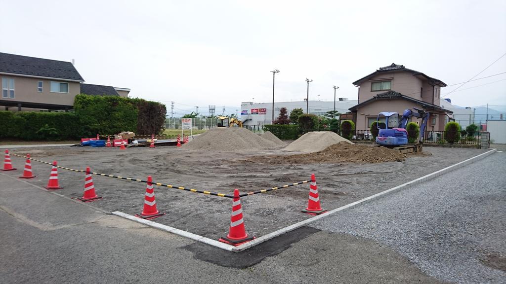 松本市村井の土地
