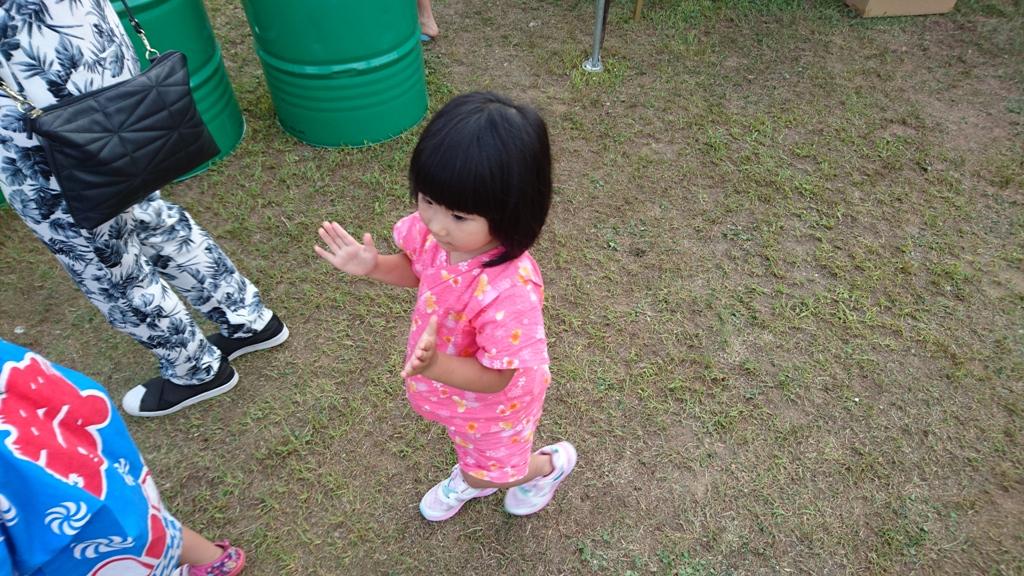 松本ぼんぼんを踊る次女