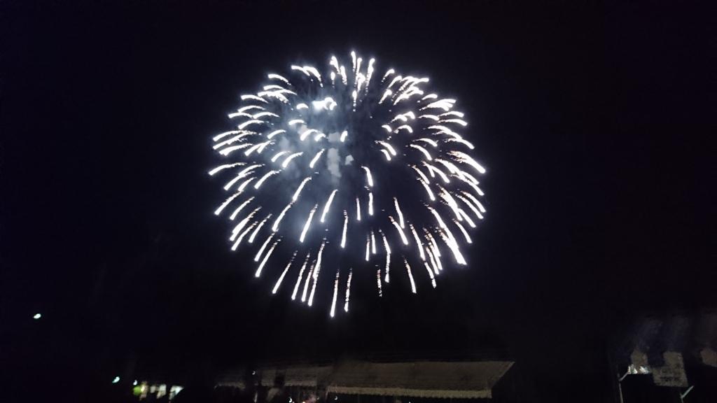 四賀夏祭りの花火