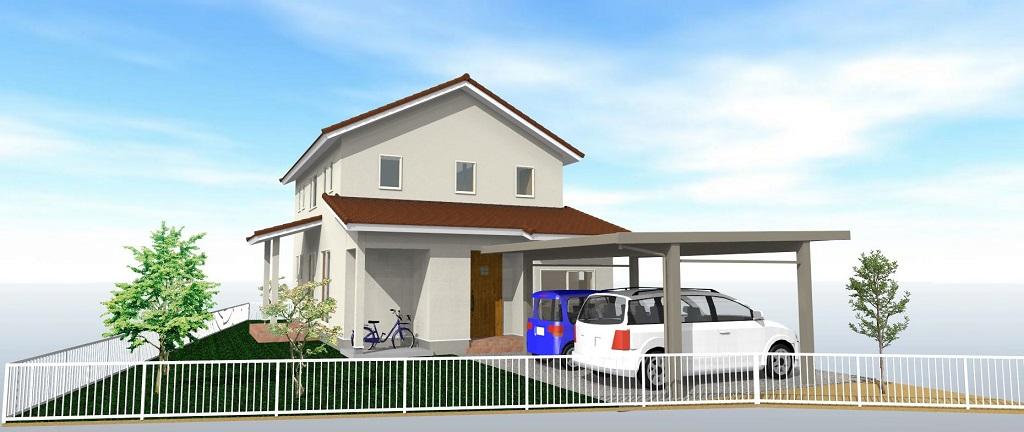 豊科 南欧風のカワイイ新築住宅