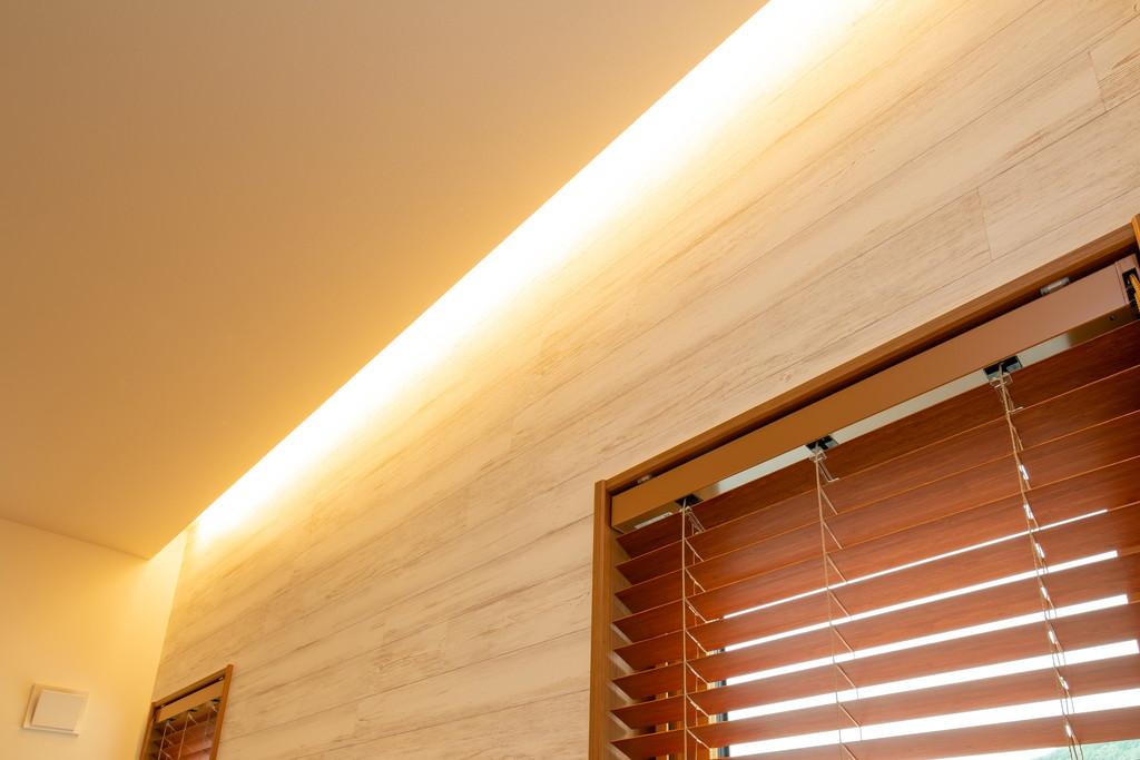 柔らかい光 間接照明